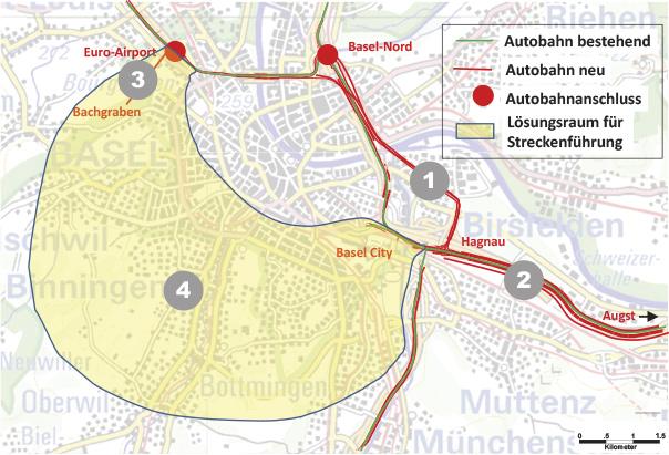 Autobahnring Basel-Stadt